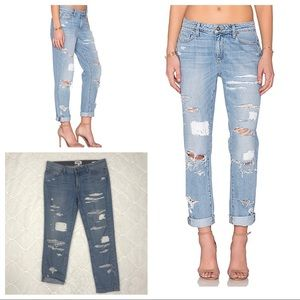 Paige Denim Jimmy Jimmy Ankle Huxley Destroyed